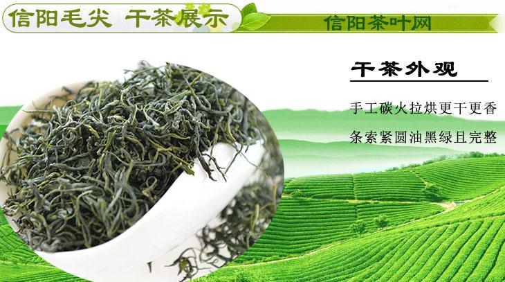 信阳毛尖春茶一级次芽干茶图片