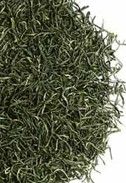 雨前茶信阳毛尖三级芽叶干茶图片